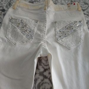 Rebel & Soul Skinny Crop Jeans